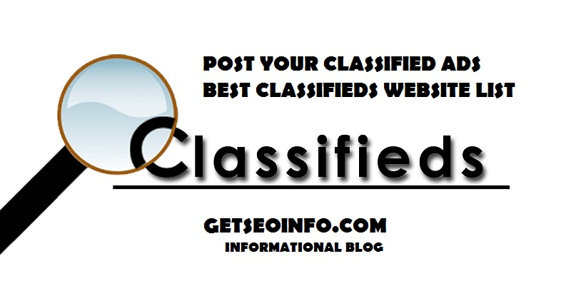 Top [150+] Free Classified Submission Sites List in India 2019