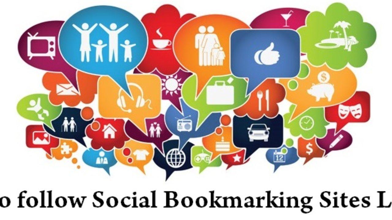 Top [180+] High PR Dofollow Social Bookmarking Sites List 2019