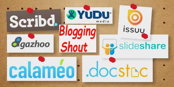 PDF Submission Sites List