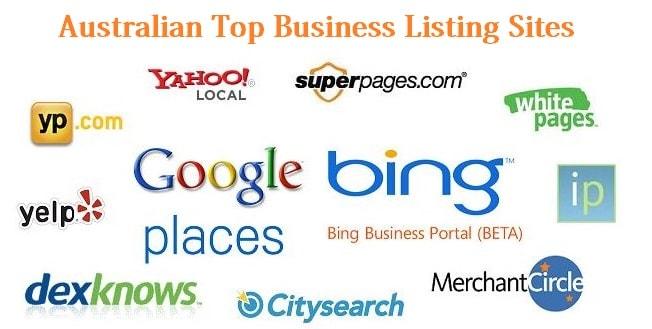 Australia business listing sites list