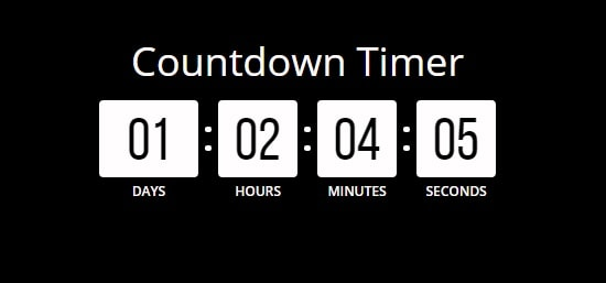 Countdown Timer on your Product Pages