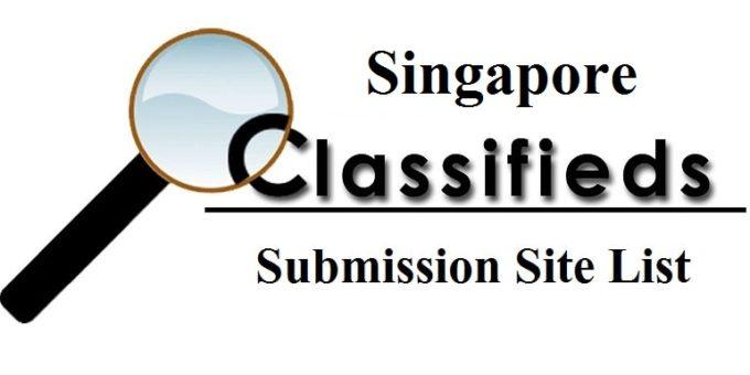 Singapore Classified Sites List