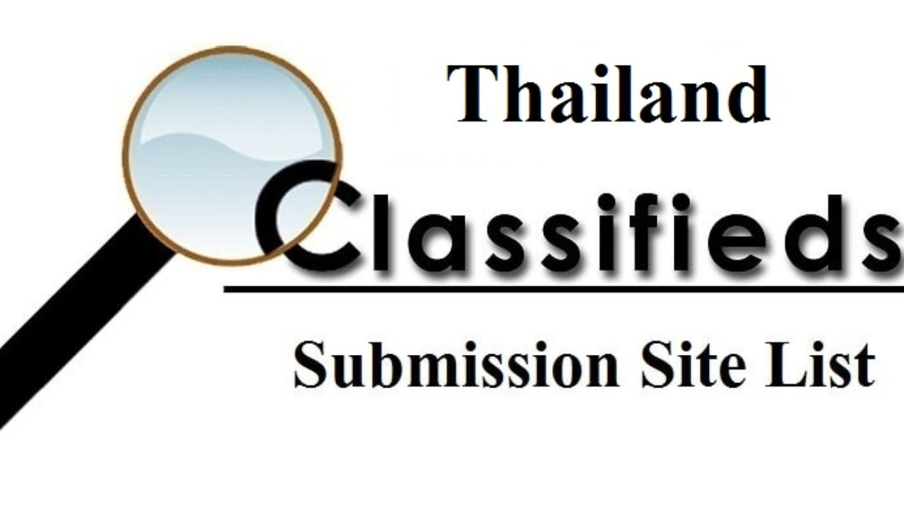 What is the Best Classifieds Submission Sites in Thailand ?