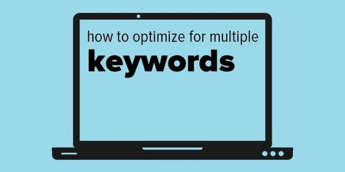 How using multiple keywords within a single content