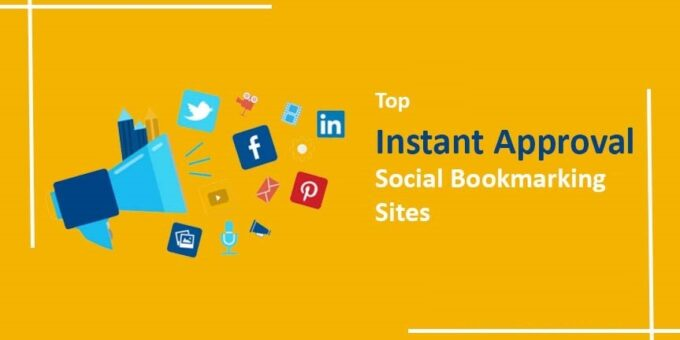 Instant Approval Social Bookmarking sites