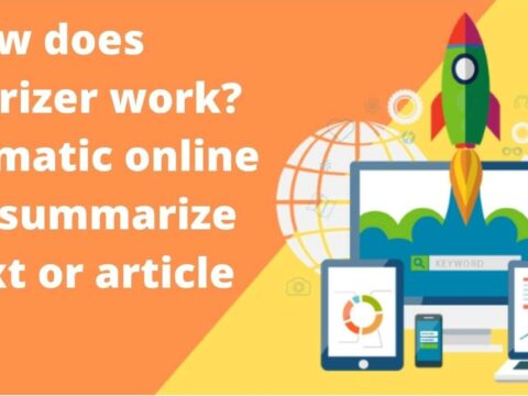 How does summarizer work